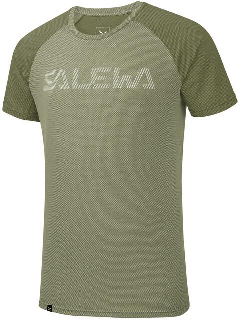 Salewa Delta A Corte Pedroc Uomo Dry Maniche Oliva Maglietta Verde 9IWHED2